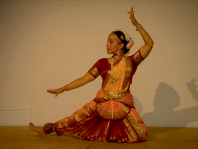 Indischer Tempeltanz, Myrtle Sheller
